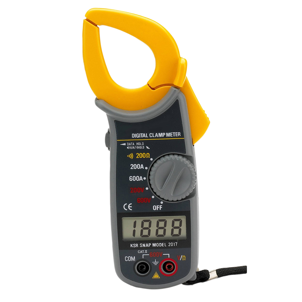 Digital AC Clamp Meter with Case