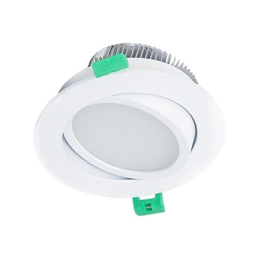 15W White Dimmable CCT Gimbal SMD LED Downlight 90mm Cutout