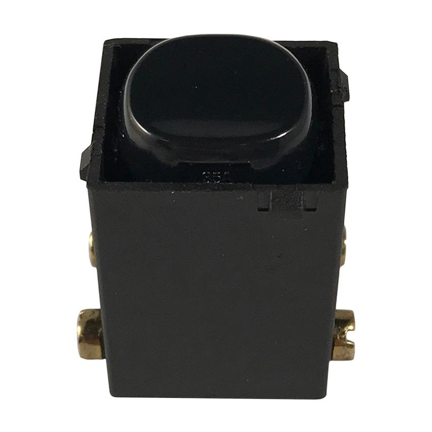 35A Double Pole  Switch Mechanism | Black