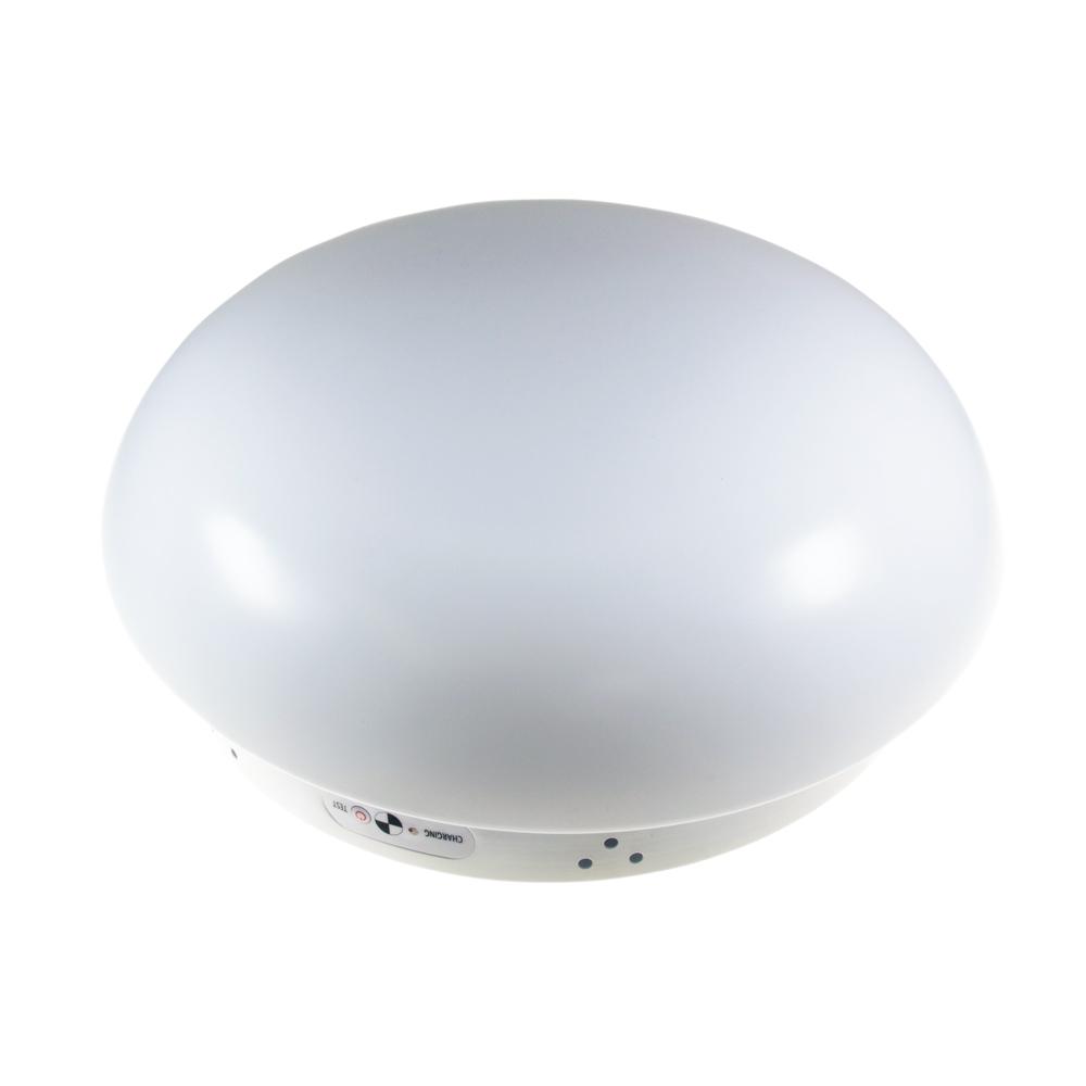 16W Oyster 370mm LED Emergency Light CW