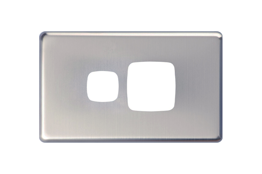 Slim Line Single PowerPoint Silver Cover