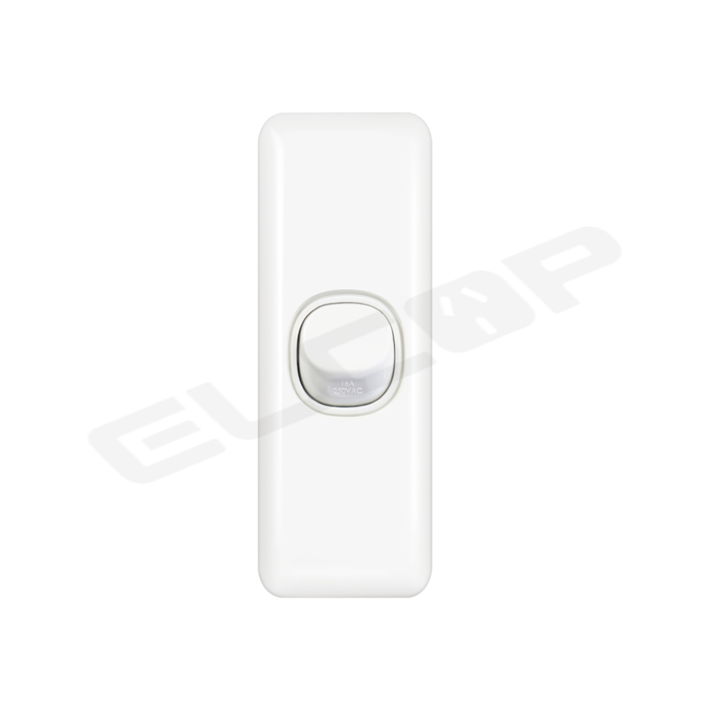 Single Gang Architrave Switch   C2 Series