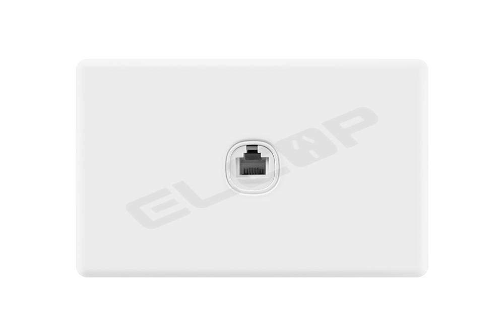 Elcop Slim Line Phone Socket