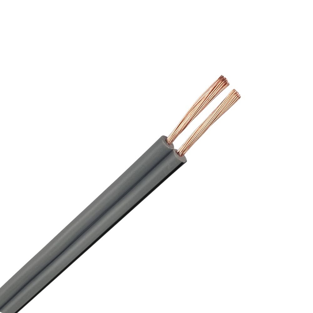 2 Core 24.0.20 18AWG Fig 8 Cable | Grey | 250M Roll