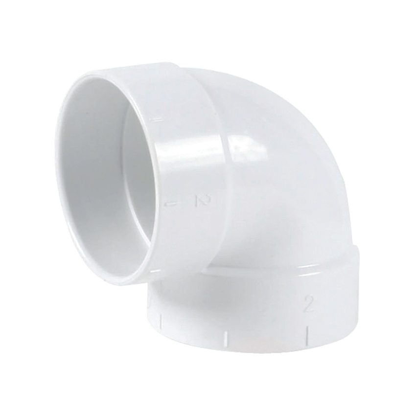 Ducted Vacuum Short 90 Degree Elbow