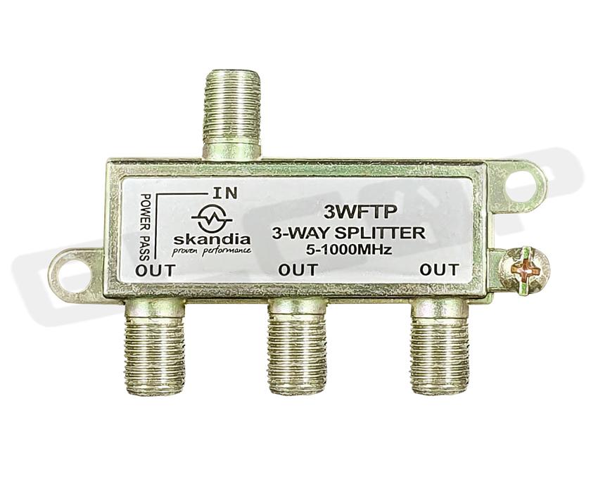 Digital Splitter 3 Way (F Type)