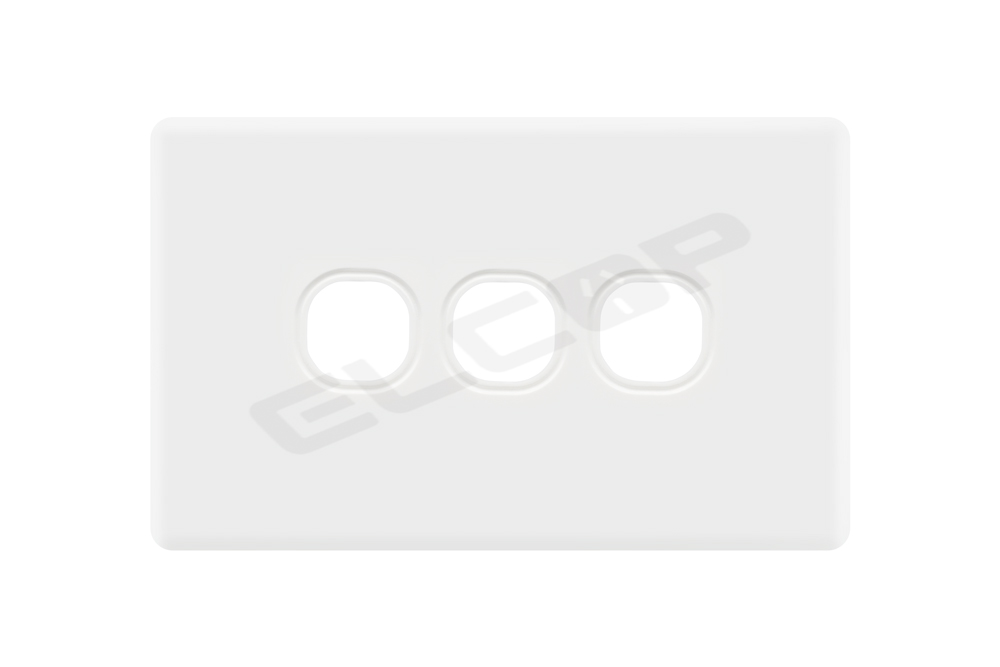 3 Gang Switch Plate | C2 Series