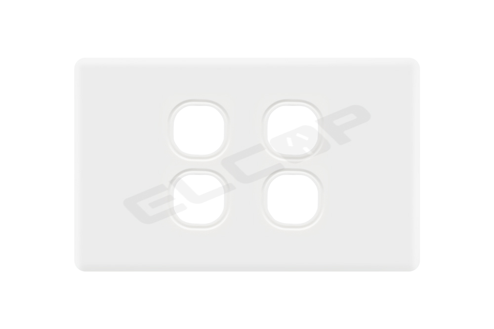 4 Gang Switch Plate | C2 Series