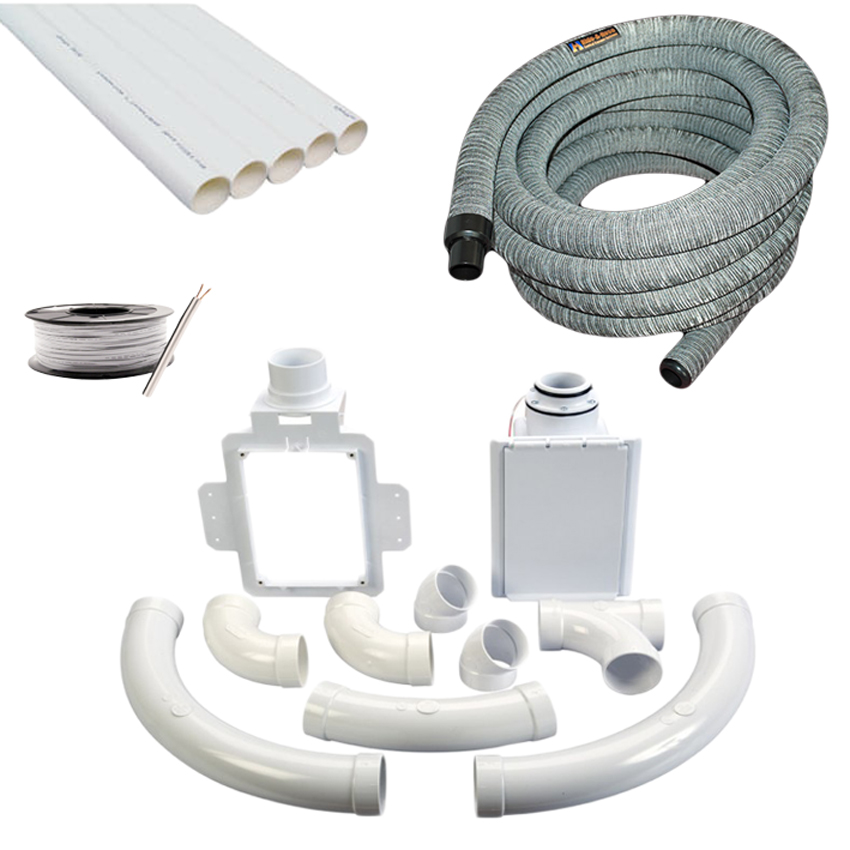 Hide a Hose 1 Point Installation Kit- 9M Hose