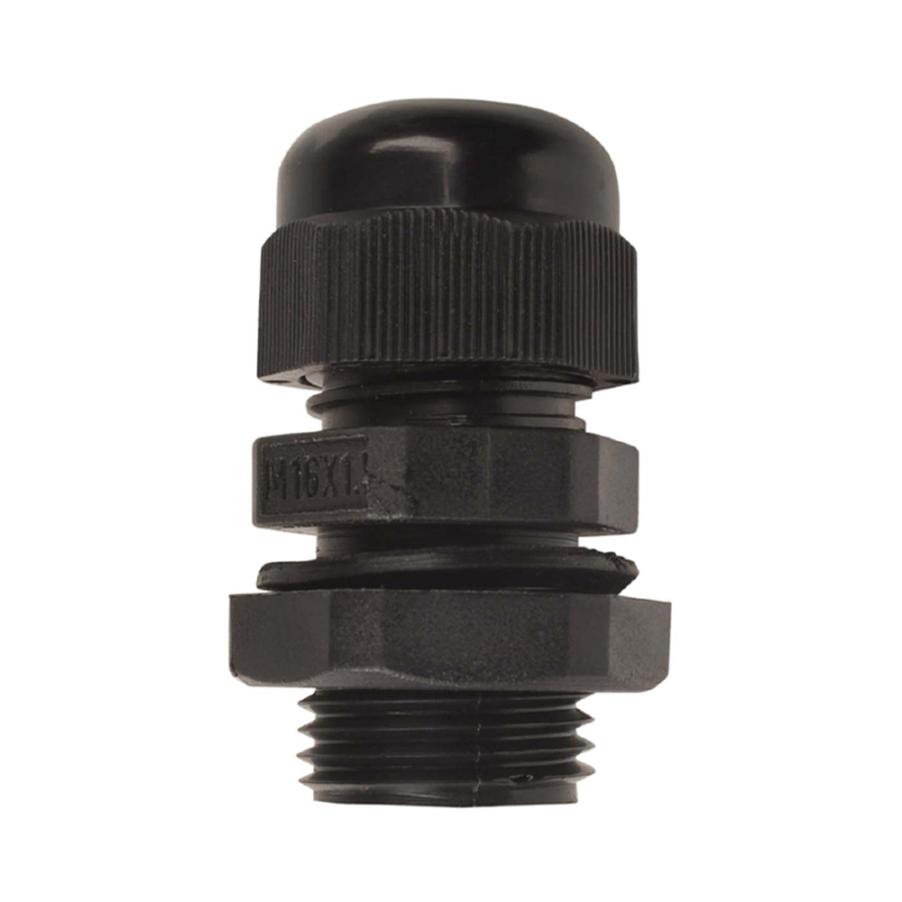 16mm Nylon Cable Gland | Black