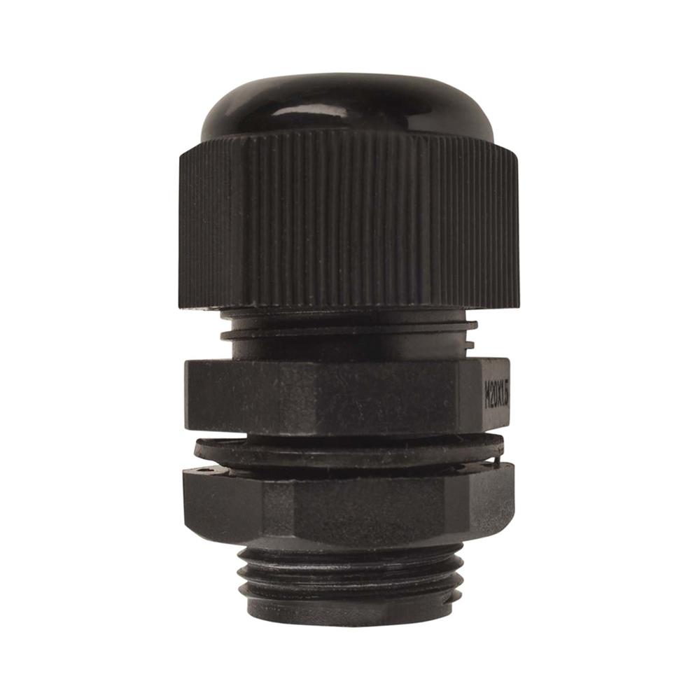 20mm Nylon Cable Gland | Black