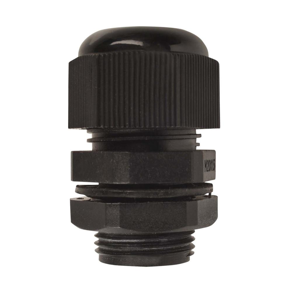 25MM Nylon Cable Gland | Black