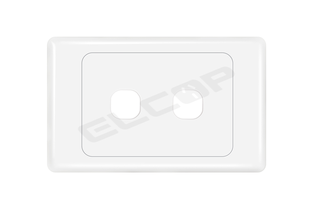 2 Gang Switch Plate | A3 Series