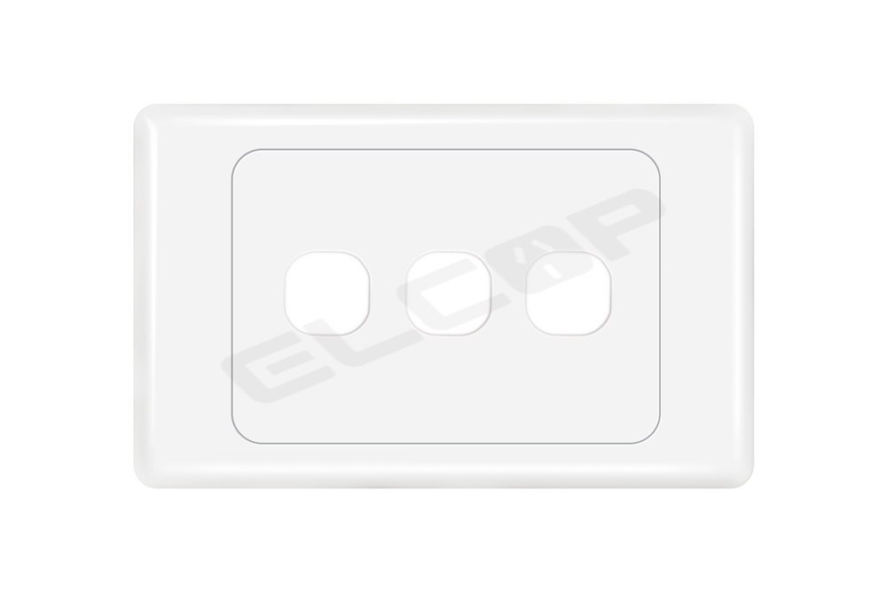 3 Gang Switch Plate | A3 Series