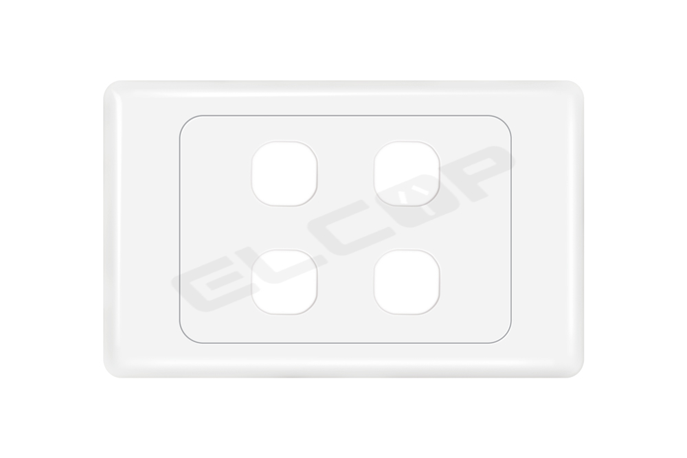 4 Gang Switch Plate | A3 Series