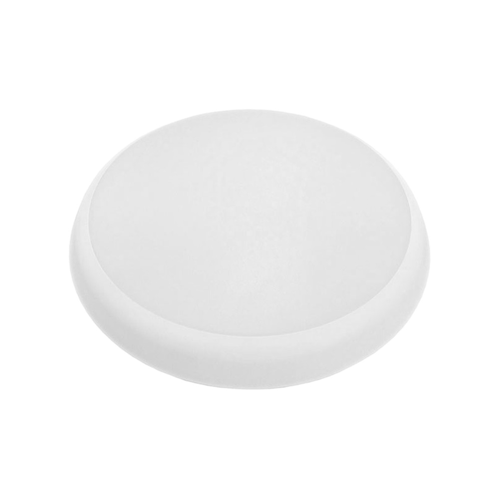 15W Round Slimline Tri Color Dimmable LED Ceiling Oyster Light | 200 mm