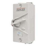 1P 20A Weatherproof Isolator 440V IP66