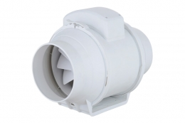 100mm Mix Flow Inline Duct Fan Only/ Kit