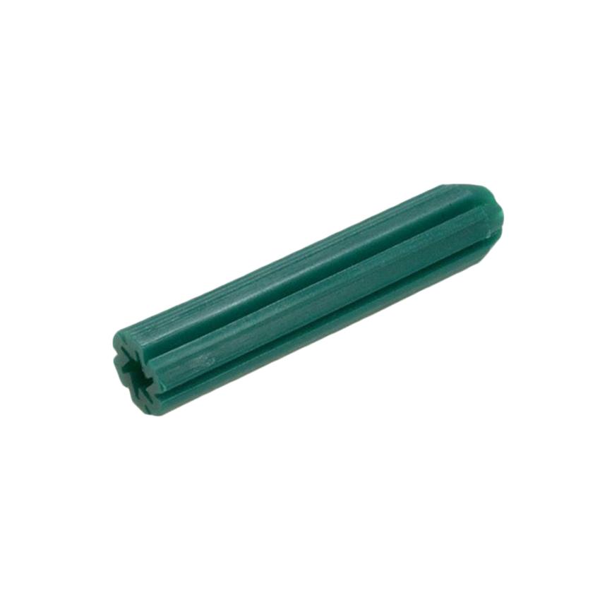 Green Wall Plugs 7x25 100pcs