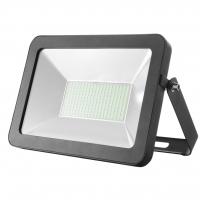 50W Slim Line SMD LED Floodlight | Black | Elcop