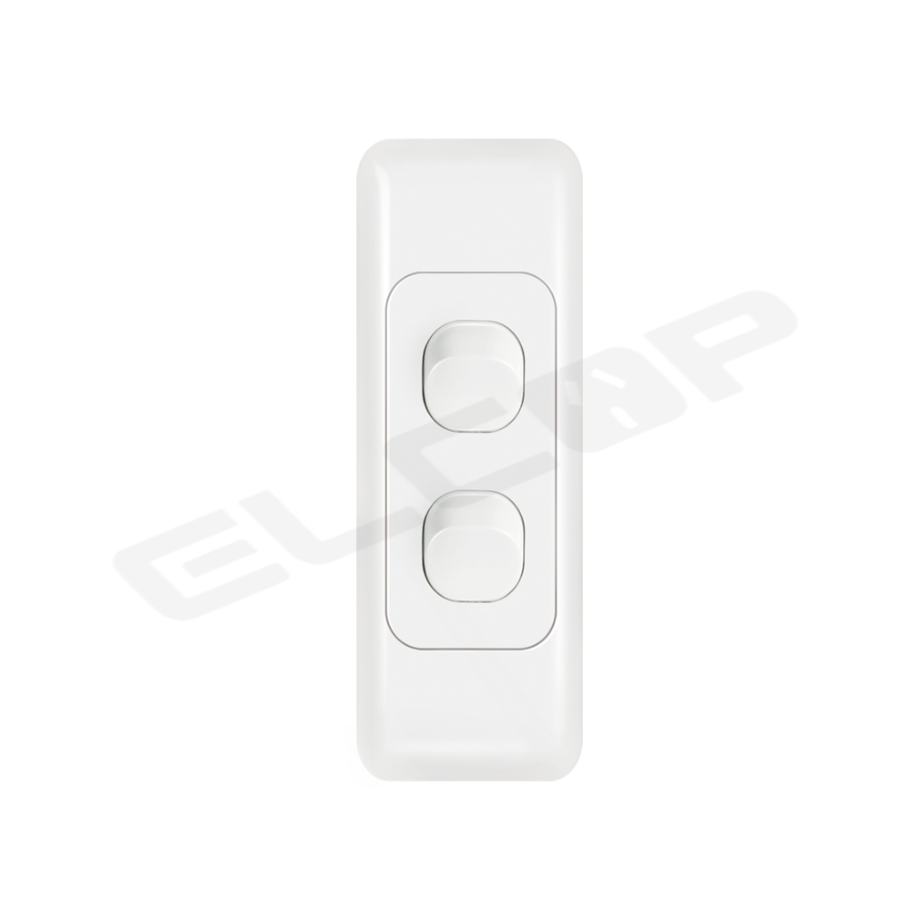 Double Gang Architrave Switch   A3 Series