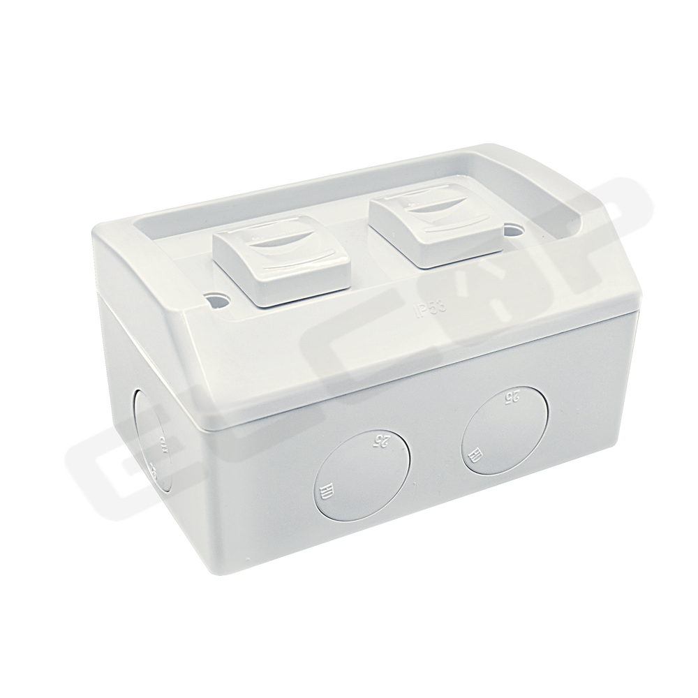 2 Gang Weather Proof Switch