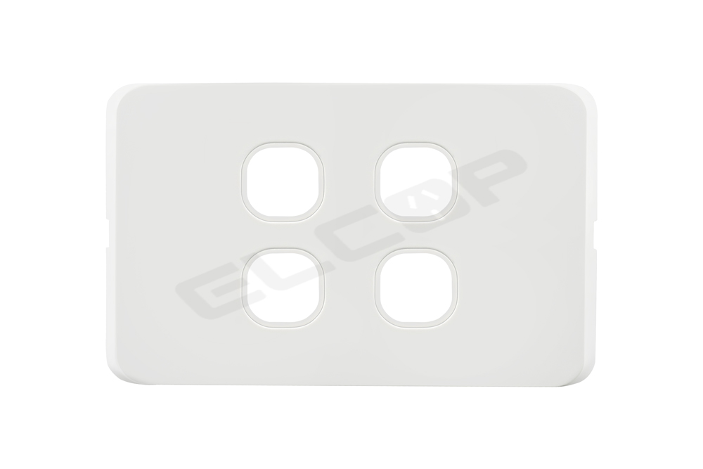 Four Gang Switch Plate | I Series