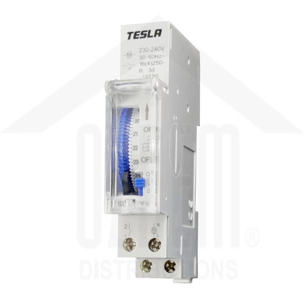 1 Pole, 16A, 24 Hour, 150H Battery Backup Mechanical Timer