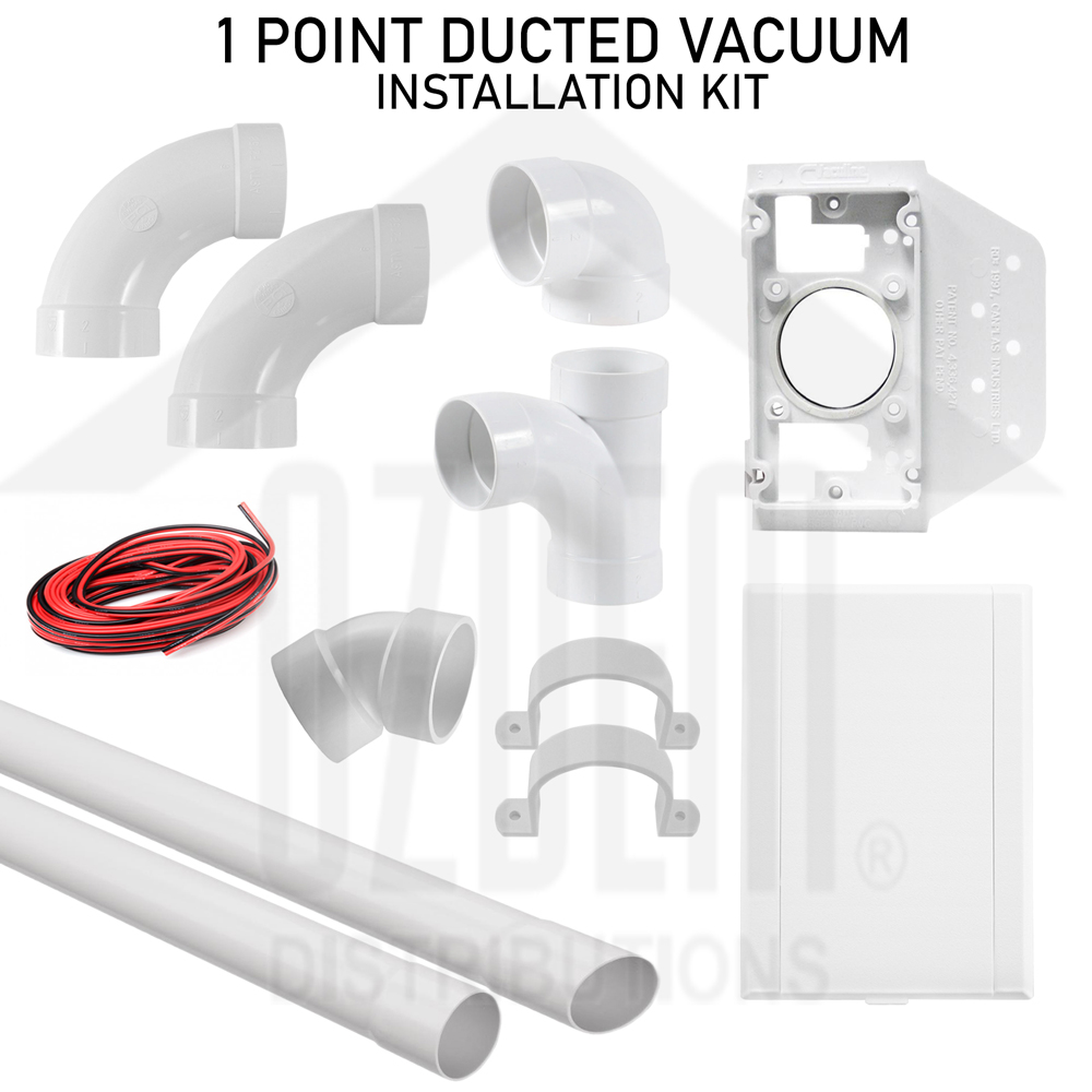 1 Point Ducted Vacuum Installation Kit