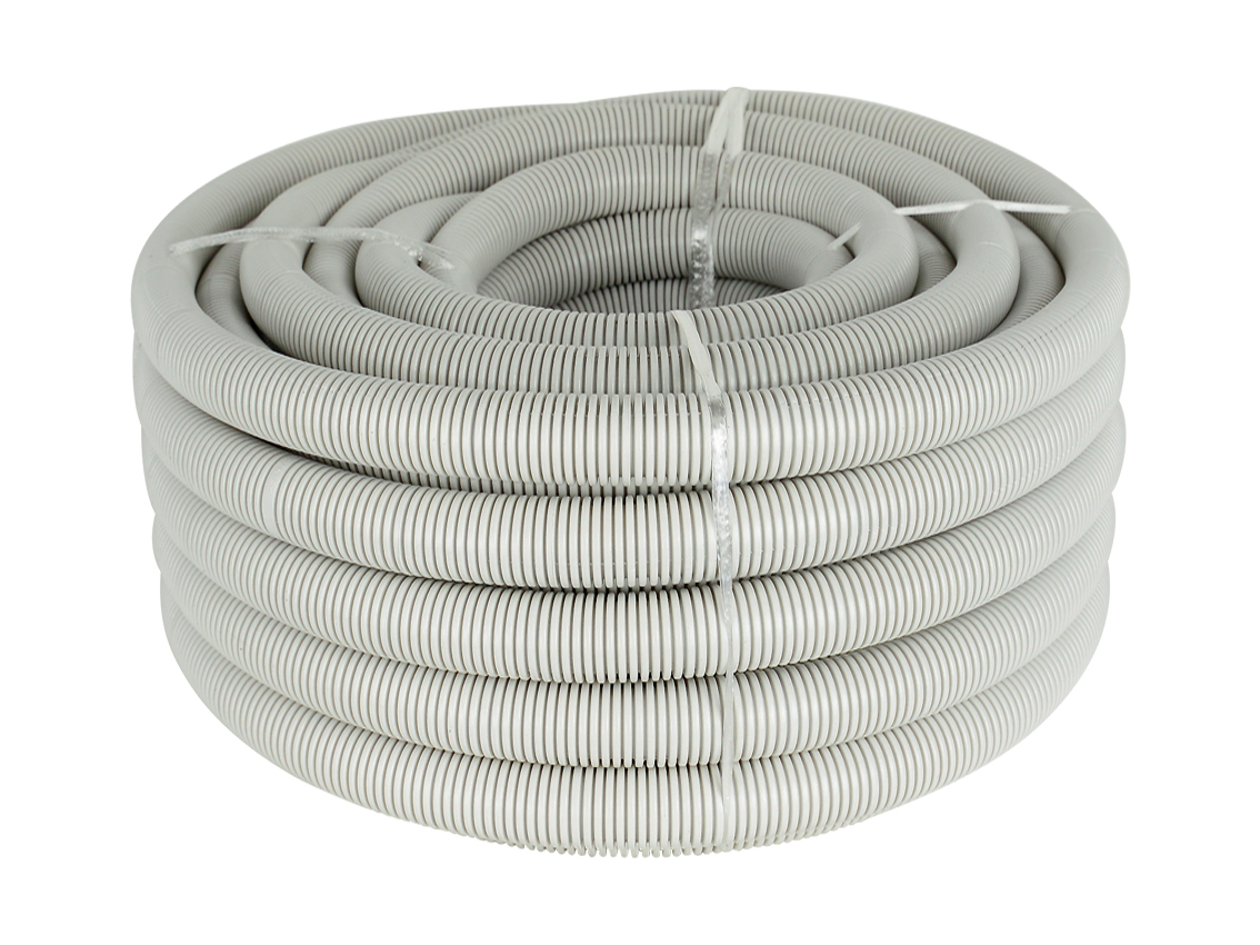 32mm Grey Corrugated Conduit (10M Roll)
