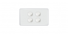 Slimline White Switches