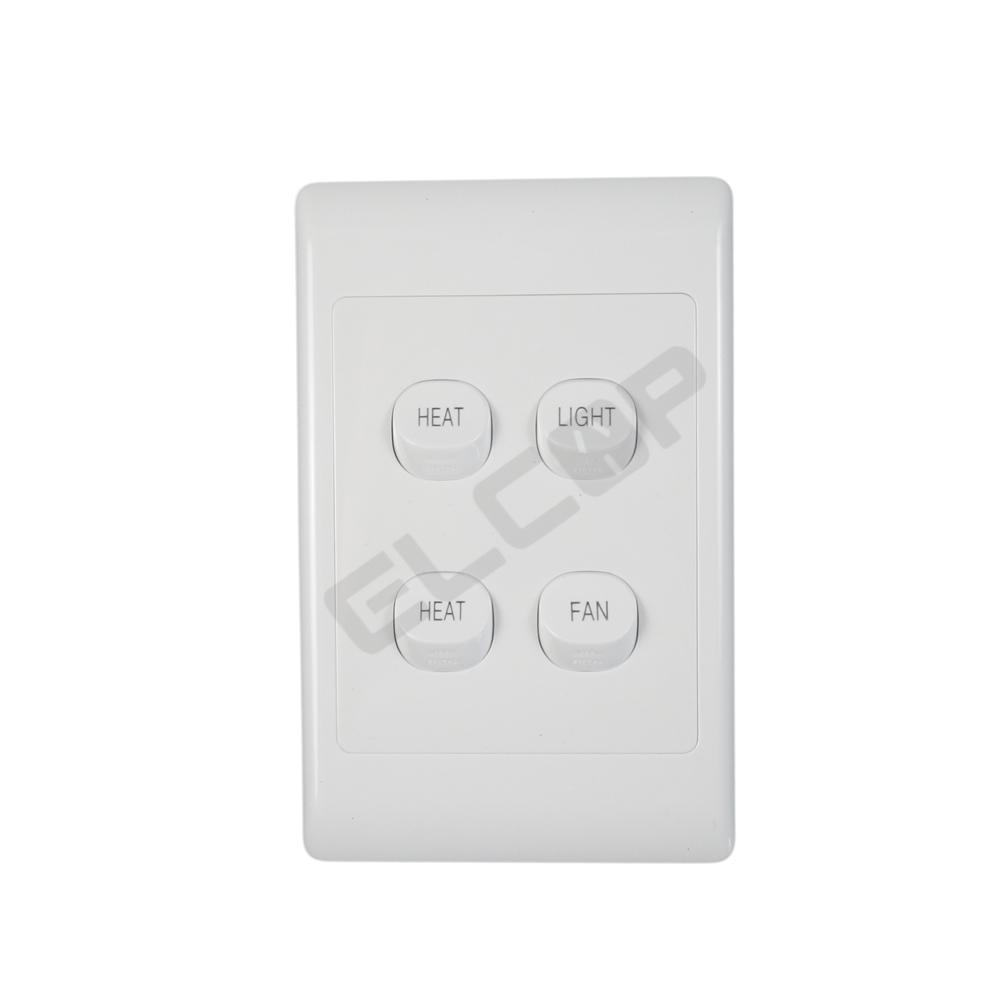 Bathroom Heater Fan And Light 3 In 1, Clipsal Bathroom Fan Heater Light Switch