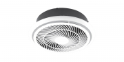 90MM High Round Exhaust Fan with 270MM Round Cut Out with Damper