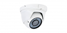 2MP Full HD Diamond Series 2.8-12MM Vari-Focal Dome Type Camera for AHD (White Color)