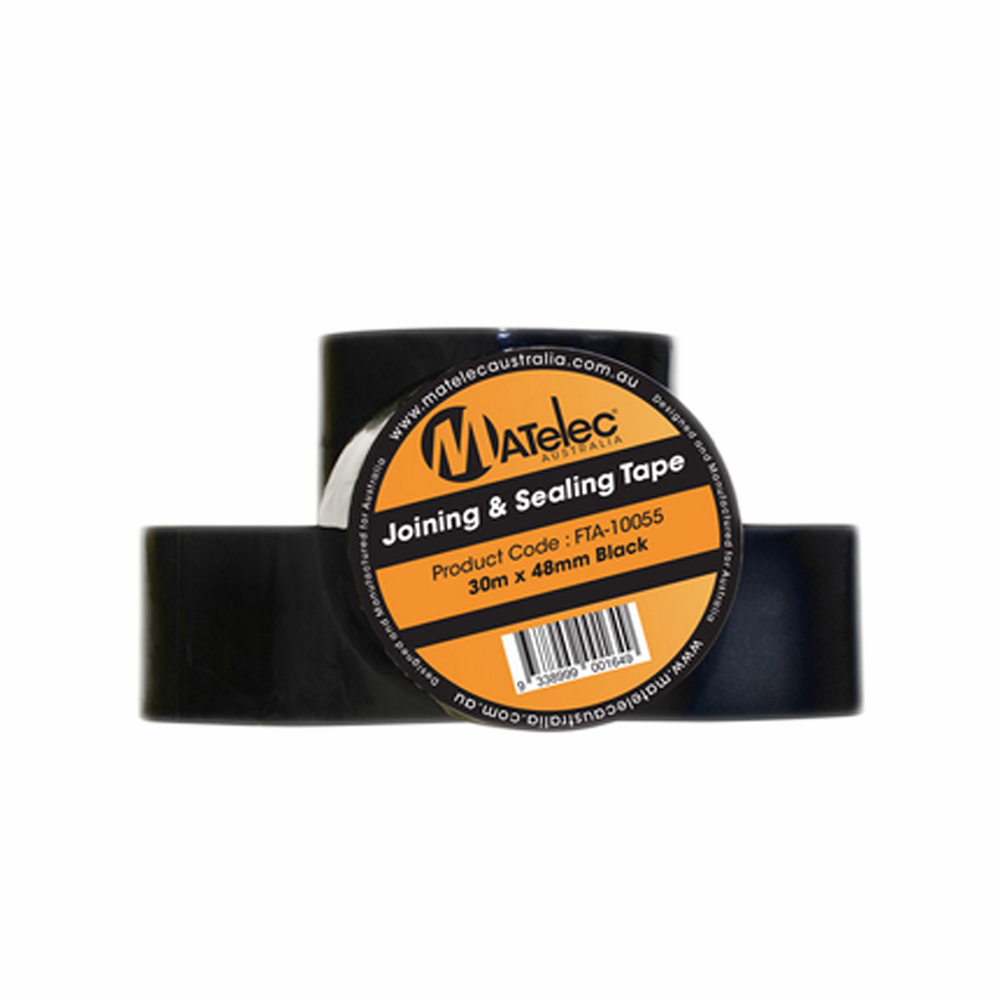 Matelec Black Duct Tape 48mm x 30m