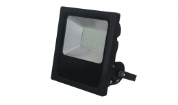Ray Zar 70W Phillips SMD LED Slimline Floodlight in Black
