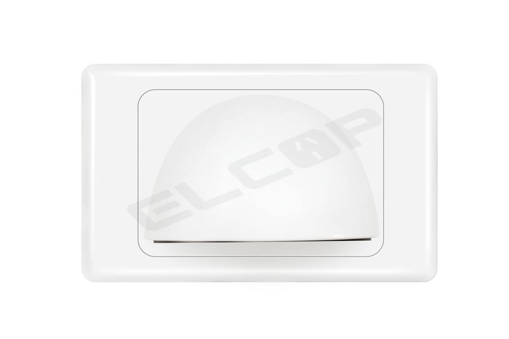 Reverse Bullnose Wall Plate | A3 Series | Elcop