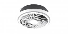 Elcop Round 35W Exhaust Fan + Flex and Plug (220MM Cutout)