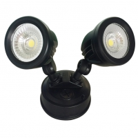 26W Double LED Spotlight with Rotable Double-head IP65   Elcop