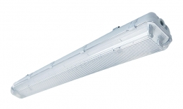 4FT 2 X Double LED 18W Weatherproof IP65 Diffused Batten | 6500K Cool White