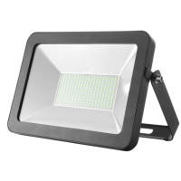50W Slim Line SMD LED Floodlight in Black | Elcop