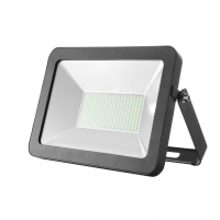 30W Slim Line SMD LED Floodlight in Black | Elcop