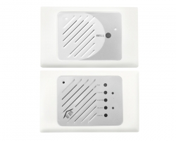 Audio Silver on White Intercom Kit (Australian Made) | Ozdem