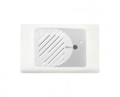 Audio Front Door | Silver on White | Ozdem